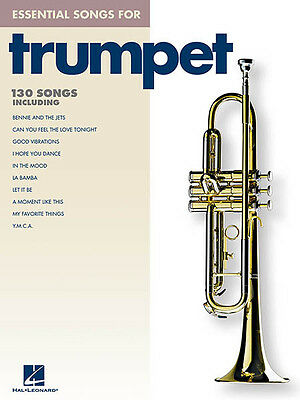 Essential Songs for Trumpet Solo Sheet Music 130 Pop Hits Hal Leonard Book NEW