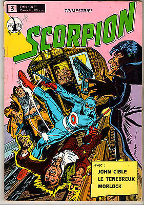 SCORPION n°3 ¤ 1977 SAGEDITION ¤ MORLOCK / JOHN CIBLE / LE TENBREUX