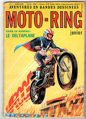 MOTO-RING JUNIOR n°4 ¤ 1978 EUROGRAFIC ¤ SKATE-BOARD