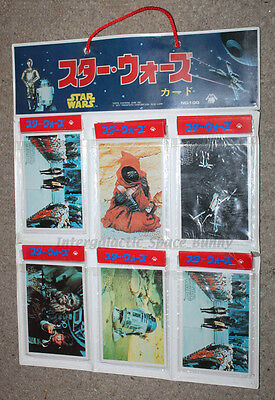 1978 Star Wars Japanese Yamakatsu Trading Cards Topps Packs & Display
