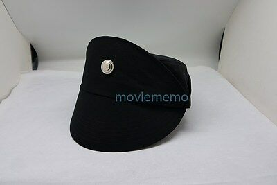 Star Wars Imperial Officer Cap Hat Head Dress Costume Cosplay Black 3 sizes