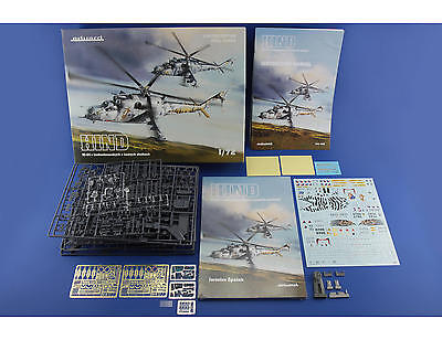 EDUARD 2116 Mi-24 Hind in Czech and Czechoslovak Service in 1:72 LIMITED/COMBO