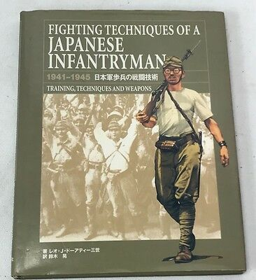 Fighting Techniques Of A Japanese Infantryman Book