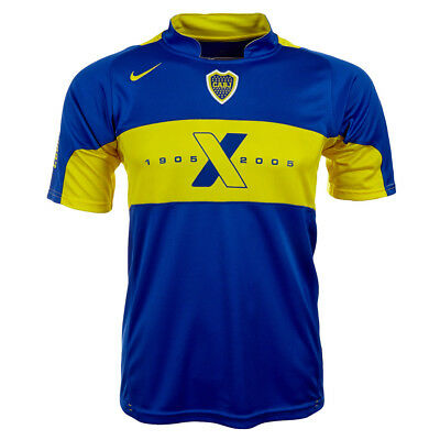 Boca Juniors Home Kids Leotard Nike 496903 ARGENTINA 128 140 146 152 164 NEW