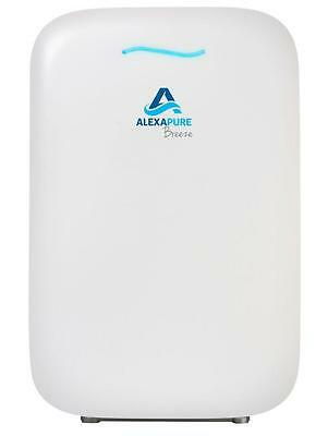 Alexapure Breeze HEPA + Ion Cluster Home Air Purifier - Ozone Free