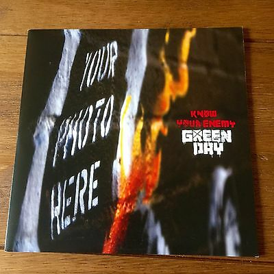 """Green Day - Know Your Enemy 7"""" VINYL  Alternative Cover And Different B Side (2)"""