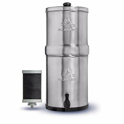 Alexapure Pro Stainless Steel Water Filtration System 5,000 gallon capacity