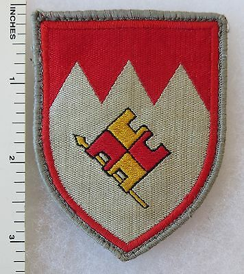 Vintage WEST GERMAN ARMY 12th PANZER DIVISION 2nd BRIGADE BUNDESWEHR PATCH