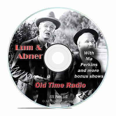 Lum & Abner, 1,854 Old Time Radio Comedy & Variety Show, Full Run! OTR DVD F95