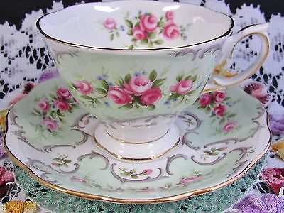Royal Albert Rose Du Barry Simone Rose Tea Cup And Saucer