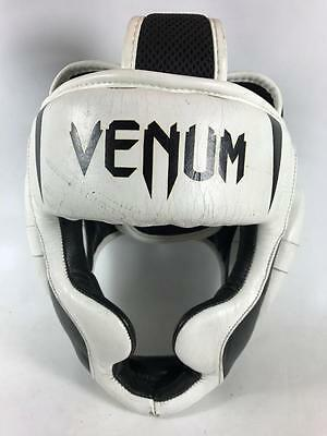 Venum Challenger 2.0 Skintex Leather MMA Mixed Martial Art Boxing Headgear
