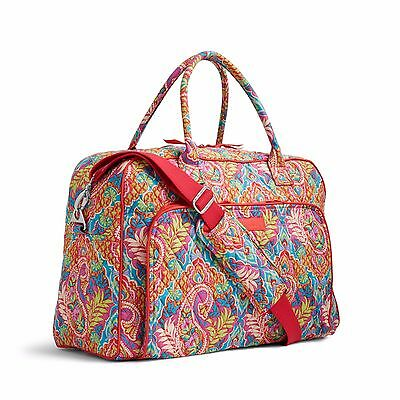 PAISLEY IN PARADISE Vera Bradley WEEKENDER TRAVEL Overnight Carry On BAG NWT