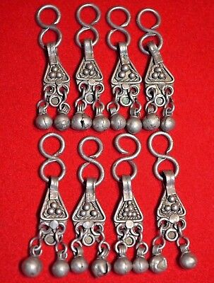 Antique Ethiopian Metal Pendant Beads Jewelry Components Dangles Ethiopia Africa