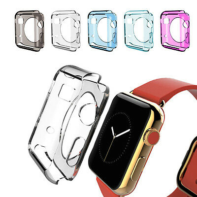 New 38mm/42mm TPU Band Fitness Strap Bracelet Replacement For Apple Watch