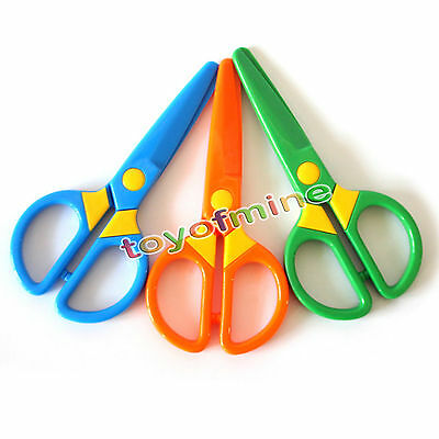 Quality Safety scissors Paper cutting Plastic scissors Children's handmade toys