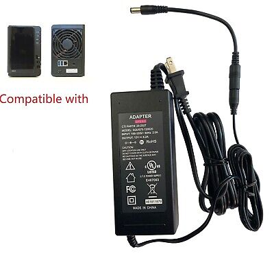 AC Adapter For Synology Diskstation DS214 DS214+ DS214SE DS214PLAY Disk Station