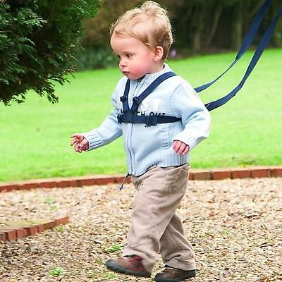Clippasafe SP3258 Baby And Toddler Walking Harness With Reins Child Safety Black