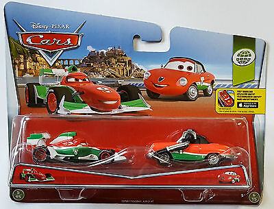 MATTEL® CDP68 Disney® Cars Francesco Bernoulli & Giuseppe Motorosi in 1:55