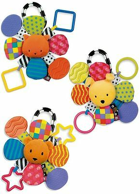 NEW Kids Preferred Amazing Baby Mirror Teether Rattle Pram Carseat Toy 3 Designs