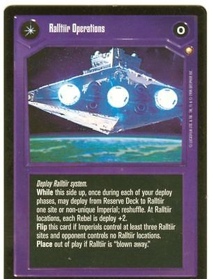 Star Wars CCG Special Edition Ralltiir Operations / In The Hands Of The Empire