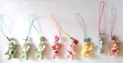 Care Bears Danglers Topps Lot 8 Scented 3D Figures