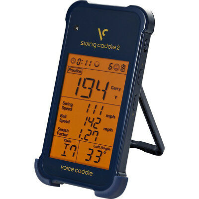 Voice Caddie SC200 Swing Portable Launch Monitor Blue NEW