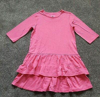 Joules girls Gorgeous Pink Frill dress. UK Size 6 years. Brand New.