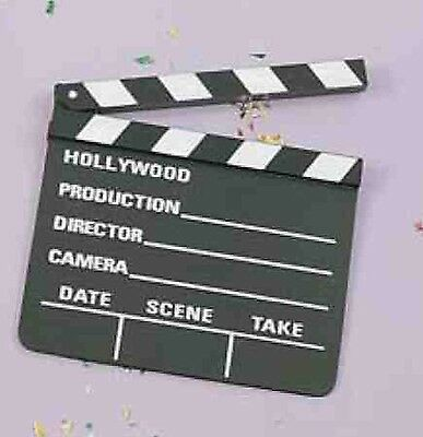 Vintage Hollywood Movie Clapper Board Costume Accessory One Size