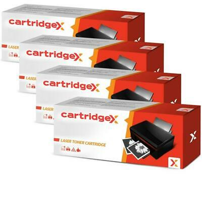 4 x Black High Capacity Toner Cartridge Compatible with HP 305A / 305X CE410X