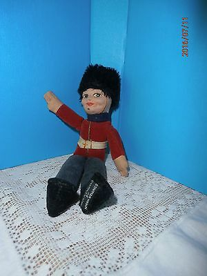 "Vintage Norah Wellings Doll 7"" Royal Guard Soldier England English"