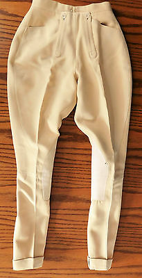 Vintage 1960s jodhpurs Bernard Weatherill Waist 24 riding breeches childs ladies