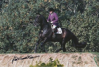John Whitaker Hand Signed Olympics 12x8 Photo.
