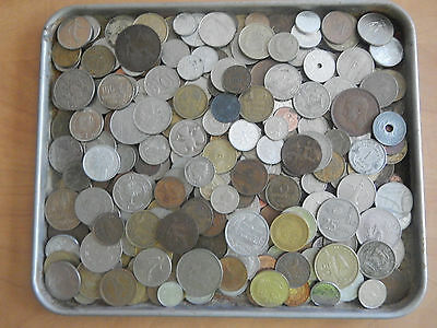 3 Pounds lbs Assorted Foreign Coins World Nice Large Lot 29