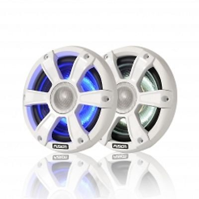 "Fushion SG-FL77SPW Speakers 7.7"" 280 Watt Coaxial White with LED's"