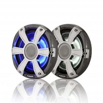 "Fushion SG-FL77SPC Speakers 7.7"" 280 Watt Coaxial Grey with LED's"