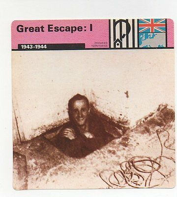Great Escape: I - Prisoners of War - Occupied Territories - WWII Card