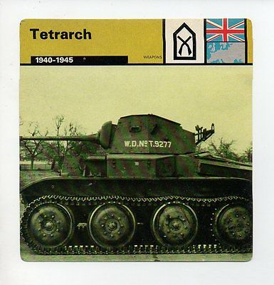 Tetrarch - Army - Weapons - WWII Card