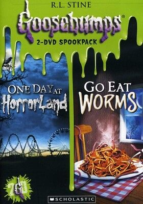 Goosebumps One Day at Horrorland + Go Eat Worms Region 1 2xDVD