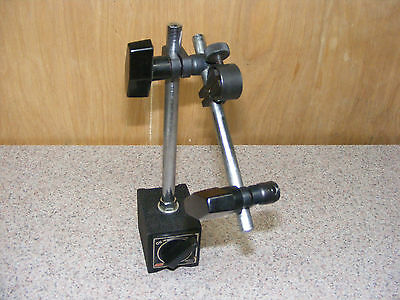 MSC Magnetic Machinist Tool Indicator Gage Stand Holder