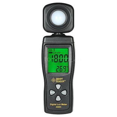 Digital Lux Meter Illuminometer Luminometer Luxmeter Light Meter 200000 Lux H9W1