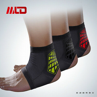 Ankle Foot Support Anklet Brace Guard Gym Sport Sock Protector Kick