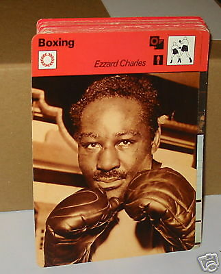 Ezzard Charles boxing Collector card