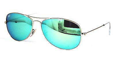 Ray Ban Sonnenbrille / Sunglasses RB3362 Cockpit 112/19 59[]14 3N + Etui