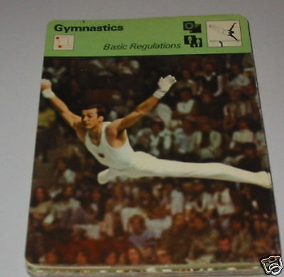 Gymnastics - Basic regulations  SC Collector card
