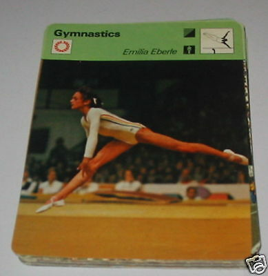 Gymnastics - Emilia Eberle  SC Collector card