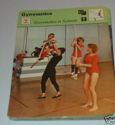 Gymnastics - Gymnastics in school SC Collector card