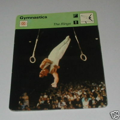 Gymnastics - The rings SC Collector card