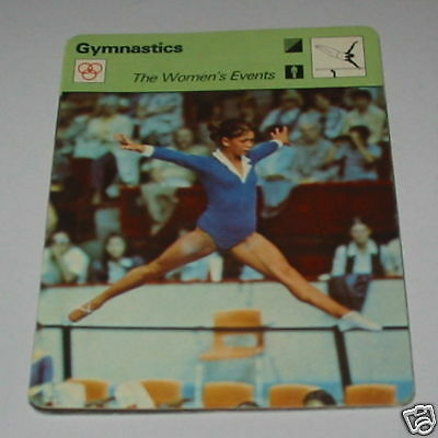 Gymnastics - The womens Events nelly SC Collector card