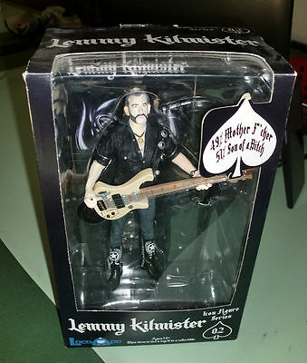 Locoape Lemmy Kilmister Motorhead Action Figure Mint in Box New Type C DeLuxe