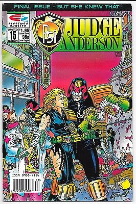Fleetway/Quality Comics - Psi: Judge Anderson #15 Limited Edition